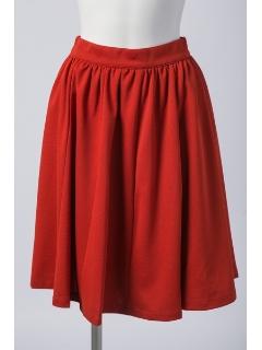 【2ndline】カラーフレアスカート