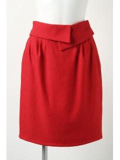 【2ndline】ウエスト折り返しデザインコクーンスカート