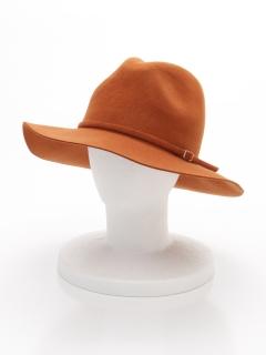 ベルト付き中折れ帽