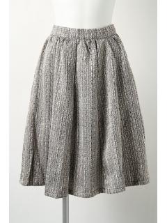 【2ndline】ツイードフレアスカート