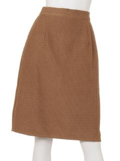 スウェードタイトスカート