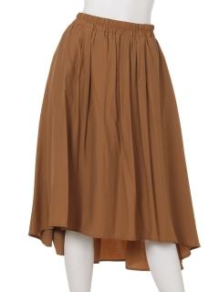 【2ndline】バックロングギャザースカート