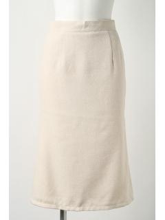 【2ndline】裾スリットシフォンタイトスカート
