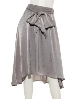 clearヴィンテージサテンスカート