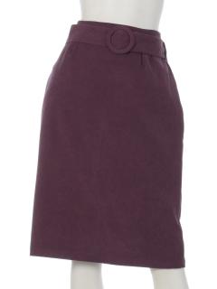 clear共地ベルト付きタイトスカート