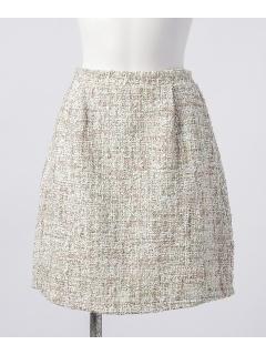 スプリングツイードフレアスカート