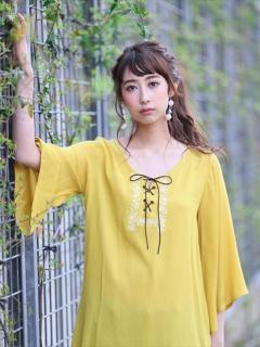 楊柳刺繍ブラウス