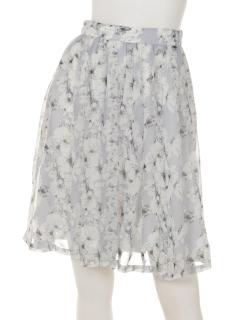大人花柄スカート
