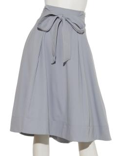 フロントリボンテールカットスカート