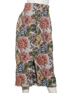 ゴブランロングタイトスカート