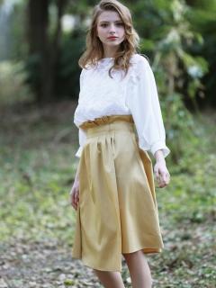 ボンディングフレアスカート