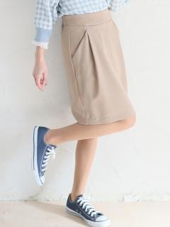 バックZIPタイトスカート
