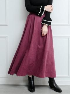 ピーチロングスカート