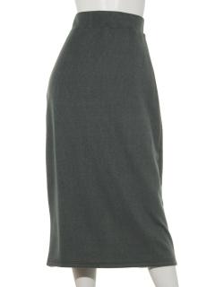 リブニットソーナロースカート