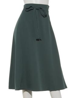 ウエストリボンフレアスカート