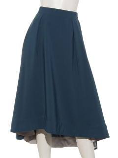 ヘムデザインフレアスカート