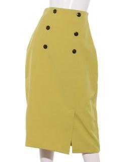 マリンボタンタイトスカート