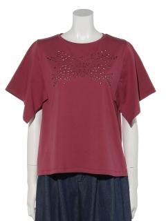 天竺カット刺繍Tシャツ