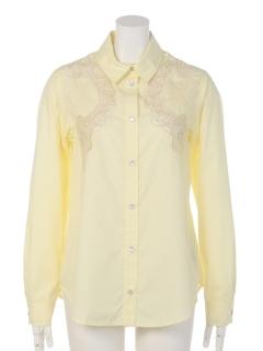 カットワーク2WAYシャツ