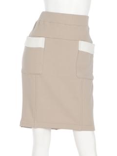 裏ボアタイトスカート