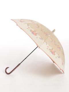 フラワーストライプ長傘