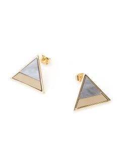 三角アセチコンビピアス