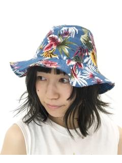 トロピカル柄HAT