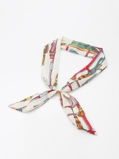 ロープ柄スカーフタイ