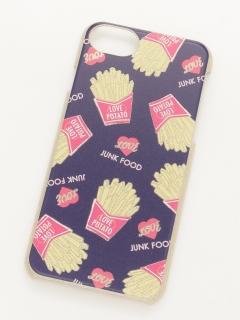 ポテトiPhone6~8ラメケース