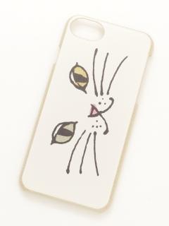 ネコiPhone6/7ラメケース