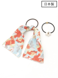 【日本製】スカーフ&セットポニー
