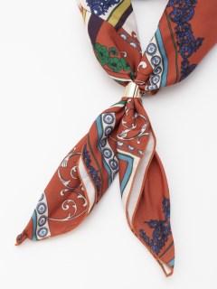 スカーフネックレス