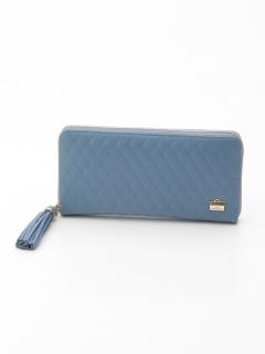 キルト型押し財布