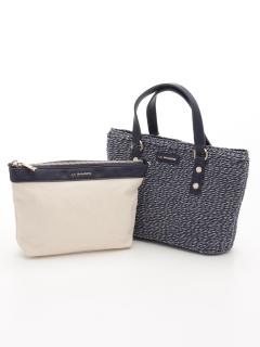 バッグインバッグ付きペーパーかごバッグSサイズ