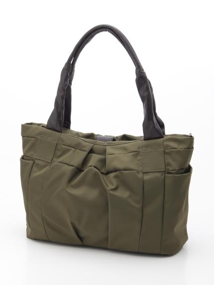 Y'SACCS(bag) (イザック(バック)) フロントタックトート カーキ