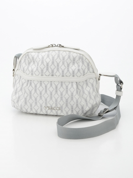Y'SACCS(bag) (イザック(バック)) ショルダーバッグ ホワイト
