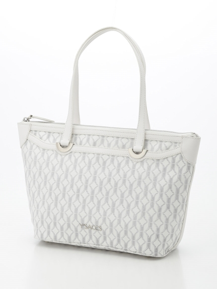 Y'SACCS(bag) (イザック(バック)) トートバッグ ホワイト