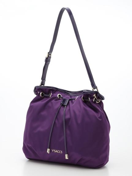 Y'SACCS(bag) (イザック(バック)) ショルダーバッグ パープル