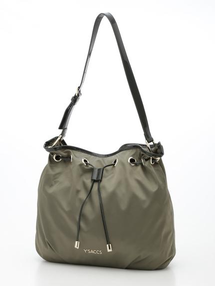 50%OFF Y'SACCS(bag) (イザック(バック)) ショルダーバッグ カーキ