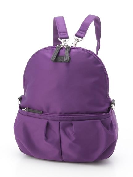 Y'SACCS(bag) (イザック(バック)) リュックサック パープル