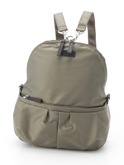 Y'SACCS(bag) (イザック(バック)) リュックサック カーキ