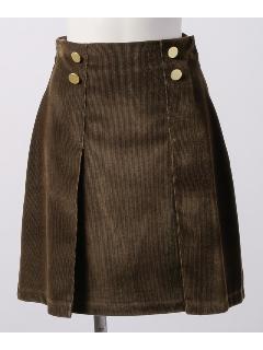 釦使いスカート
