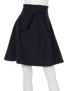 パイピングリボンスカート
