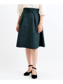 Eウエストレースアップスカート