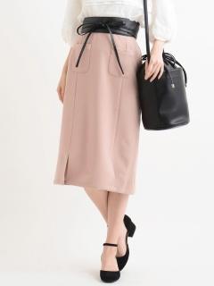 ダブルスリットIラインスカート