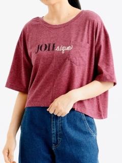 ポケ付ロゴTシャツ