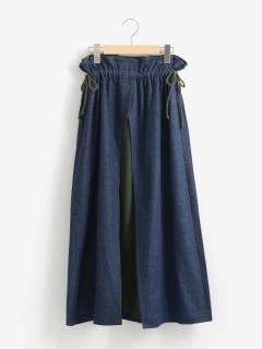 コンビ風ロングスカート