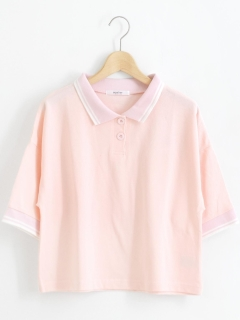 ラインポロシャツ