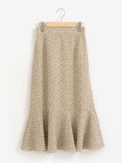 柄マーメイドスカート