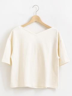 BACKツイストTシャツ